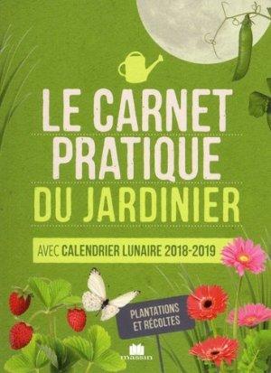 Le carnet pratique du jardinier - massin - 9782707210852 -