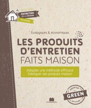 Les produits d'entretien faits maison - Massin - 9782707211590 -