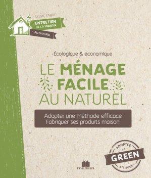 Le ménage facile au naturel - Massin - 9782707211620 -