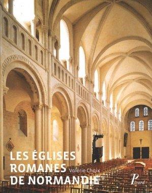 Les Eglises romanes et Normandie - picard - 9782708409132 -