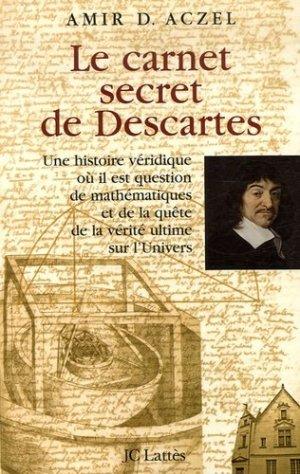 Le carnet secret de Descartes - Jean-Claude Lattès - 9782709628051 -