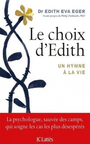 Le choix d'Edith - lattes - 9782709656238 -