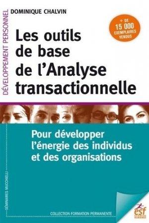 Les outils de base de l'analyse transactionnelle - ESF Editeur - 9782710137375 -