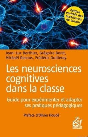 Les neurosciences cognitives dans la classe - ESF Editeur - 9782710143130 -
