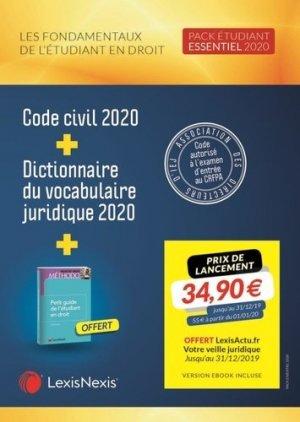 Les fondamentaux de l'étudiant en droit - lexis nexis (ex litec) - 9782711032181 -