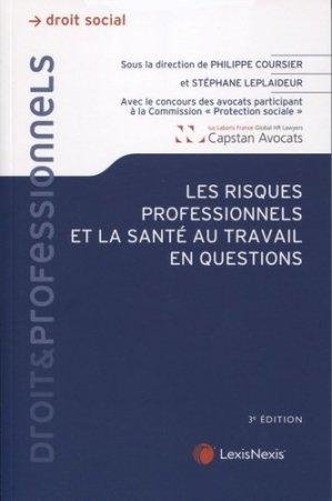 Les risques professionnels et la santé au travail en questions - lexis nexis/litec - 9782711032686 -
