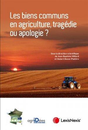 Les biens communs en agriculture - lexis nexis (ex litec) - 9782711033911 -