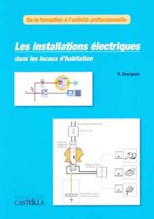 Les installations électriques dans les locaux d'habitation - casteilla - 9782713531743 -