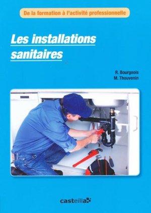 Les installations sanitaires - casteilla - 9782713534980 -