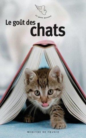 Le goût des chats - Mercure de France - 9782715249554 -