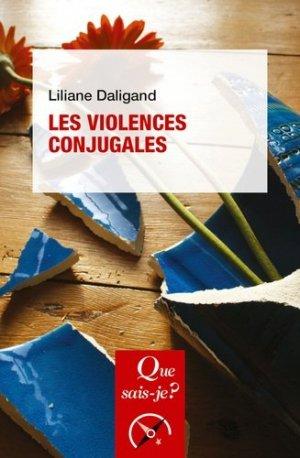 Les violences conjugales - PUF - 9782715402140 -