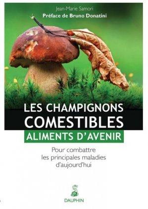 les Champignons comestibles - dauphin - 9782716315234 -