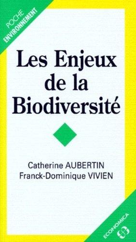 Les enjeux de la biodiversité - Economica - 9782717834925 -