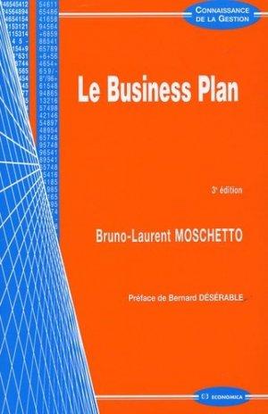 Le Business Plan - Economica - 9782717850628 -