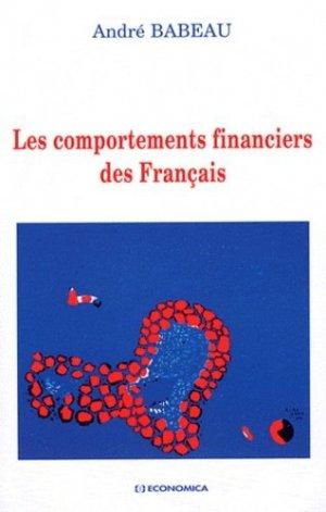 Les comportements financiers des Français - Economica - 9782717860719 -