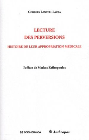 Lecture des perversions - economica anthropos - 9782717861082 -