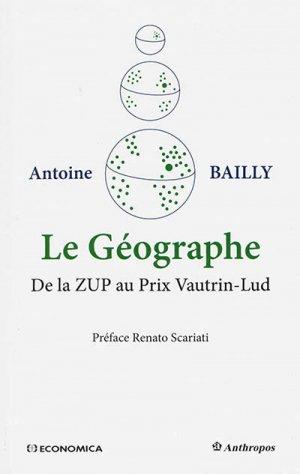 Le Géographe - economica anthropos - 9782717869385 -
