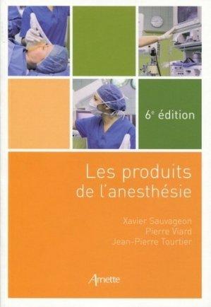 Les produits de l'anesthésie - arnette - 9782718414447