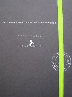 Le carnet des tapas des montagnes - Glénat - 9782723474115 -