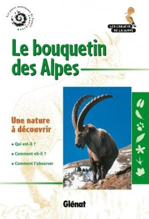 Le bouquetin des Alpes - glenat - 9782723475921 -