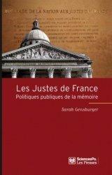 Les Justes de France - sciences po les presses - 9782724611397 -
