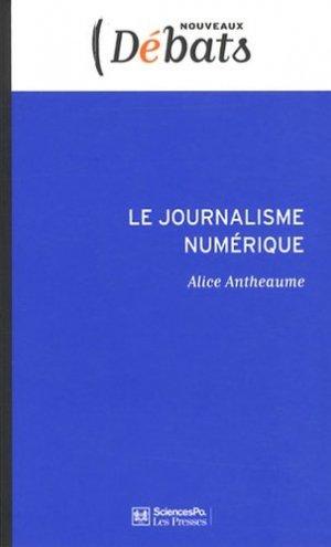 Le journalisme numérique - sciences po les presses - 9782724612646 -