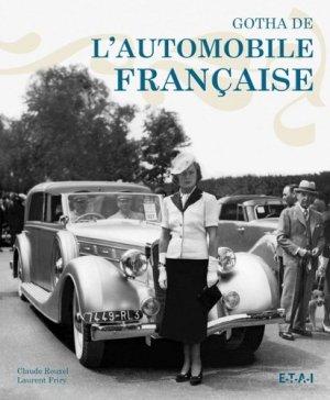 Le Gotha de l'automobile française - etai - editions techniques pour l'automobile et l'industrie - 9782726888872 -