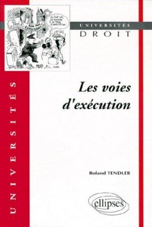 Les voies d'exécution - Ellipses - 9782729848996 -