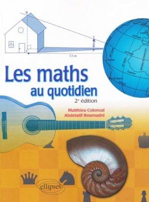 Les maths au quotidien - ellipses - 9782729861728