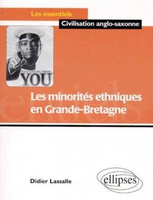 Les minorités ethniques en Grande-Bretagne - Ellipses - 9782729867591 -