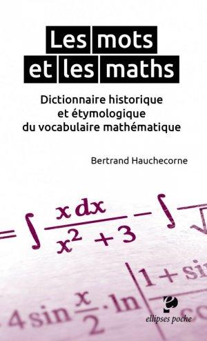 Les mots et les maths - ellipses - 9782729884437 -