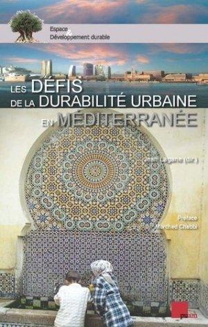 Les défis de la durabilité urbaine en Méditerranée - presses universitaires d'aix-marseille - 9782731409048 -