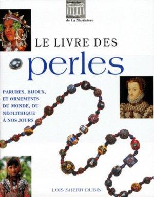 Le livre des perles - de la martiniere - 9782732422015 -