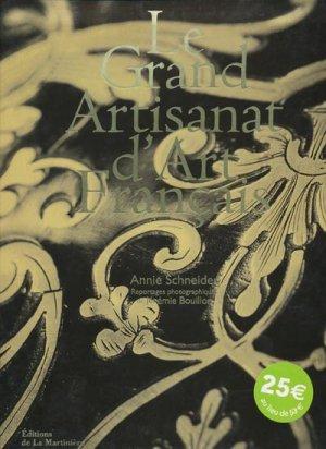 Le Grand Artisanat d'Art Français - de la martiniere - 9782732432830 -