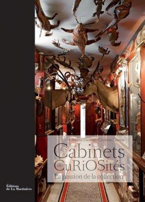 Les cabinets de curiosités - de la martiniere - 9782732446639 -