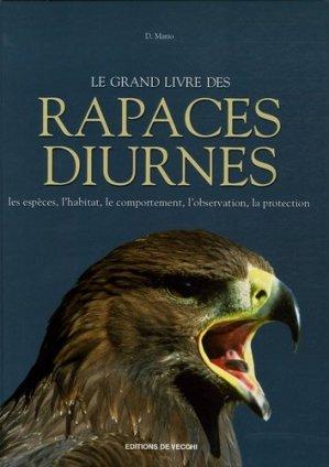 Le grand livre des rapaces diurnes - de vecchi - 9782732884103 -