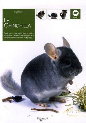 Le chinchilla - de vecchi - 9782732884226 -