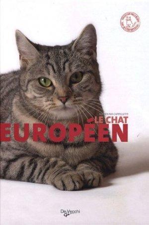 Le Chat européen - De Vecchi - 9782732891811 -