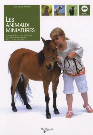 Les animaux miniatures - De Vecchi - 9782732892948 -