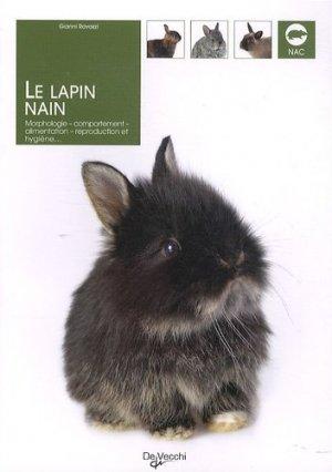 Le lapin nain - de vecchi - 9782732896069 -