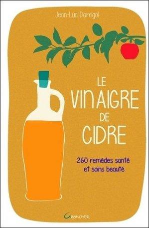 Le vinaigre de cidre - grancher - 9782733914458 -