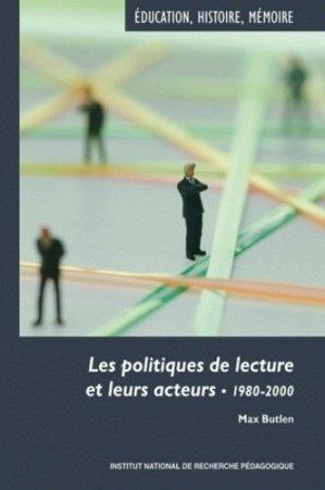 Les politiques de lecture et leurs acteurs - INRP - 9782734210863 -