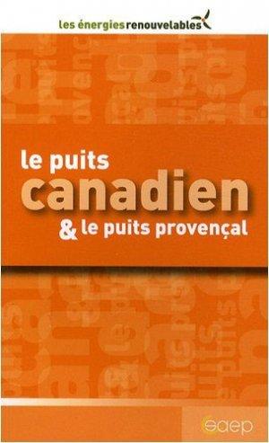 Le puits canadien & le puits provençal - saep - 9782737244773 -