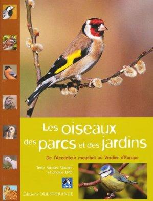 Les oiseaux des parcs et des jardins - ouest-france - 9782737337338 -
