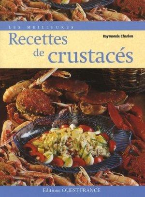 Les meilleures recettes de crustacés - Ouest-France - 9782737344374 -