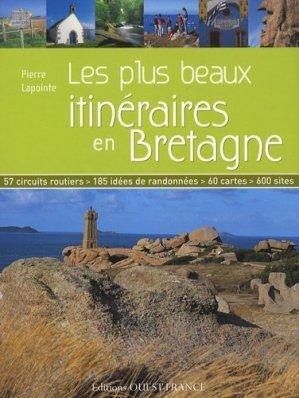 Les plus beaux itinéraires en Bretagne - ouest-france - 9782737344541 -
