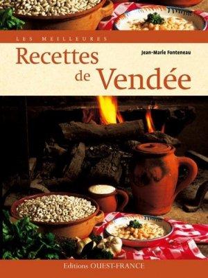 Les meilleures Recettes de Vendée - Ouest-France - 9782737353147 -