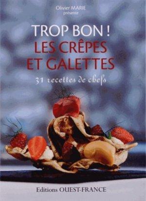 Les crêpes et galettes - Ouest-France - 9782737359644 -