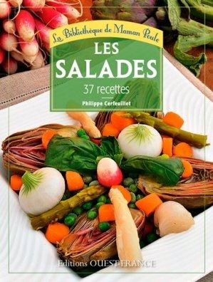 Les salades. 37 recettes - Ouest-France - 9782737362835 -