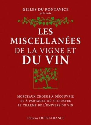 Les miscellanées de la vigne et du vin - ouest-france - 9782737366505 -